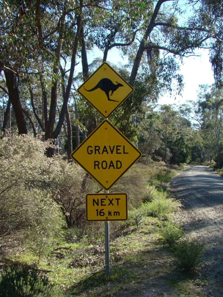 Sign kangaroo