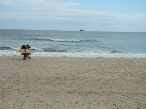 Backpackers in Byron Bay