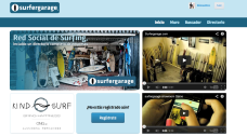 Surfergarage, red social de surfistas