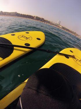 paddle surf desde el agua
