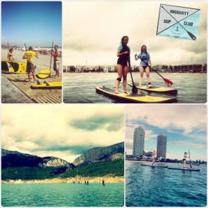 Escuela Paddle surf barcelona